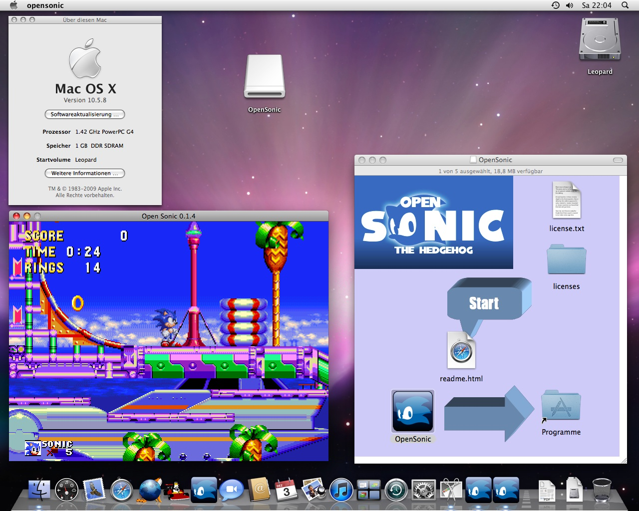 Open Sonic 0 1 4 for Mac OS X (Page 1) - General - Open Surge