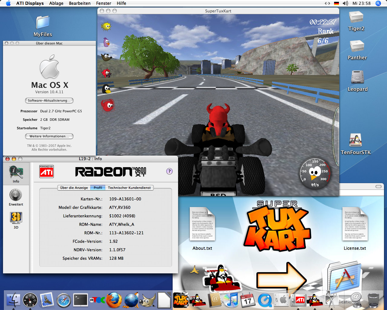 Supertuxkart mac os x screenshots for Innenarchitektur mac os x